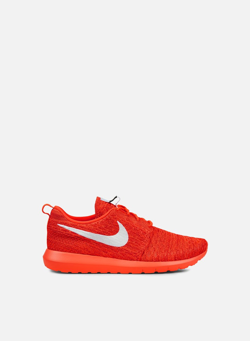 Nike - Roshe NM Flyknit, Bright Crimson/White/University Red