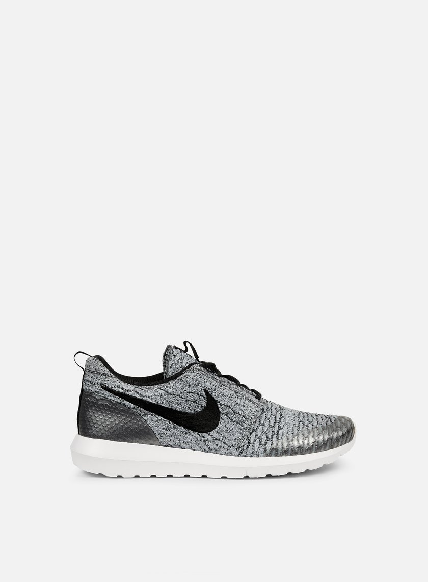 Nike - Roshe NM Flyknit SE, Wolf Grey/Black/White