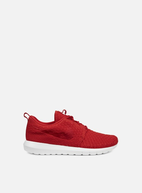 sneakers nike roshe nm flyknit university red university red white