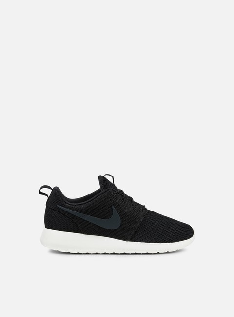 sneakers nike roshe one black anthracite sail