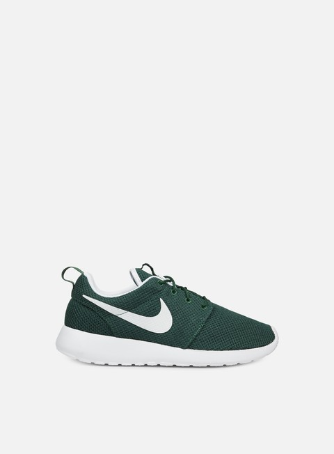 sneakers nike roshe one gorge green white