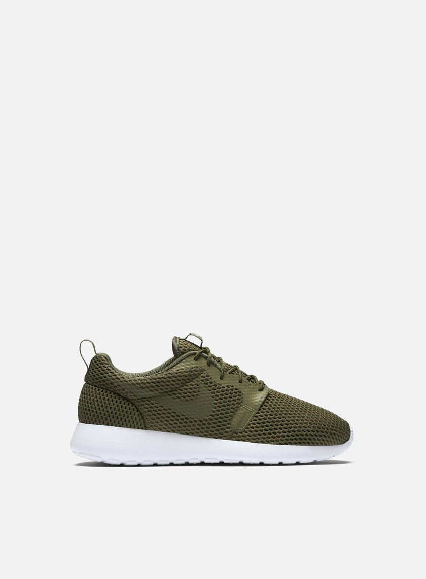 Nike - Roshe One HYP BR, Medium Olive/Medium Olive/White