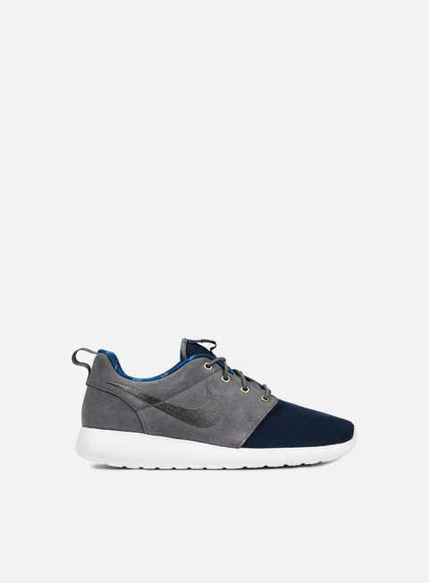sneakers nike roshe one premium dark obsidian dark grey white