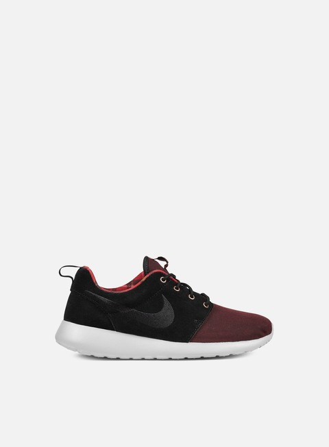 sneakers nike roshe one premium night maroon black wolf grey