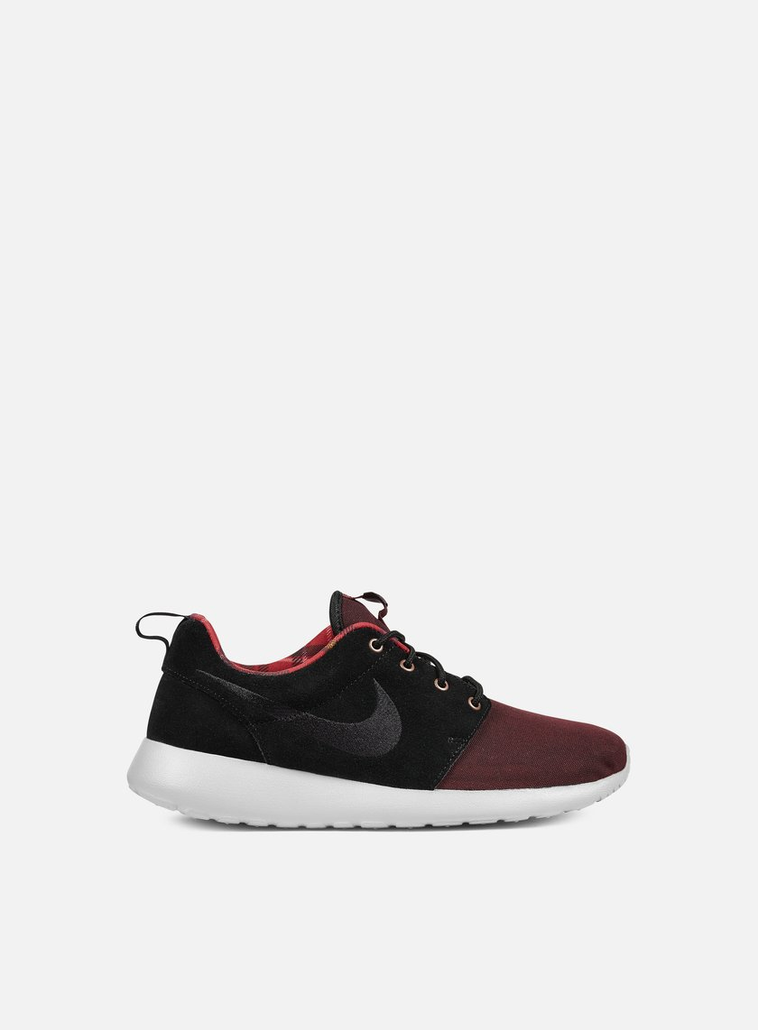 Nike - Roshe One Premium, Night Maroon/Black/Wolf Grey