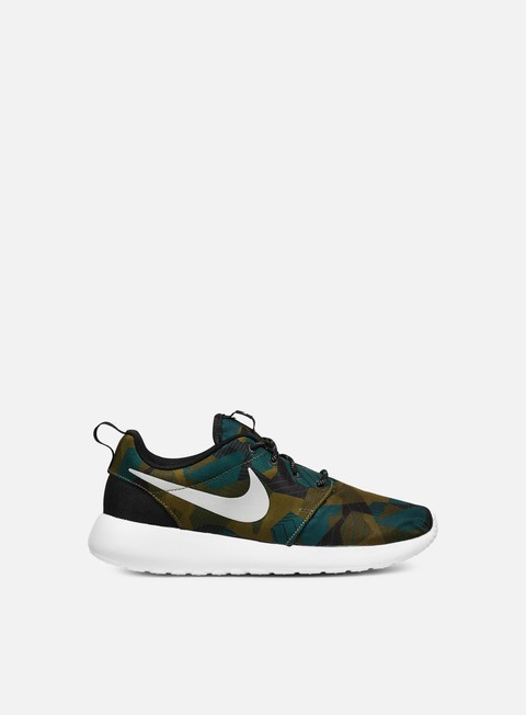 sneakers nike roshe one print cargo khaki light bone white