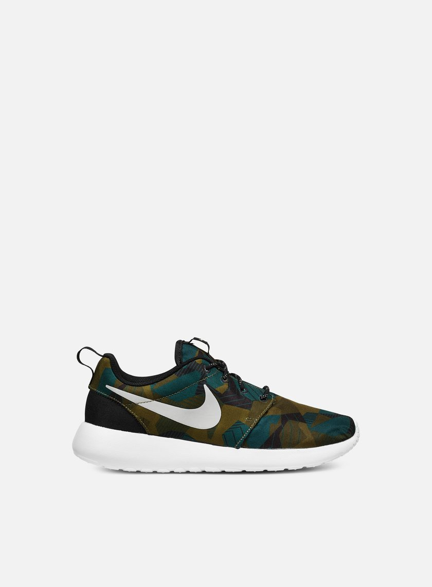 Nike - Roshe One Print, Cargo Khaki/Light Bone/White