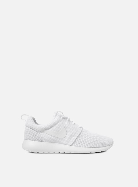 sneakers nike roshe one white white