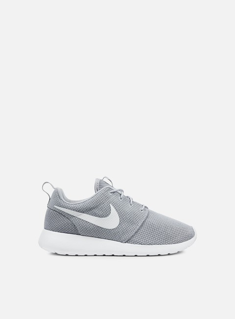 sneakers nike roshe one wolf grey white