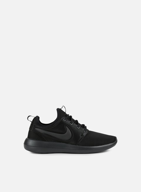 sneakers nike roshe two black black black