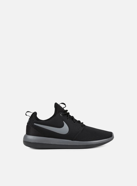 sneakers nike roshe two black dark grey anthracite