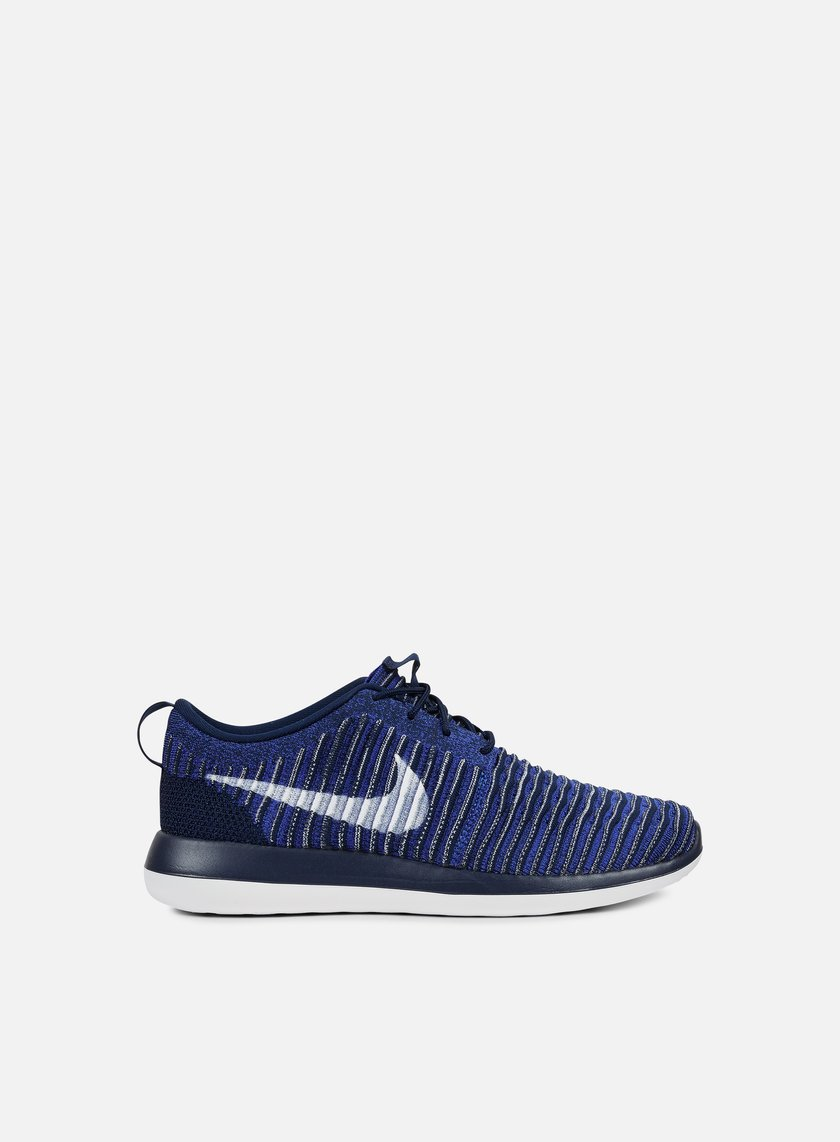 Nike - Roshe Two Flyknit, College Navy/White
