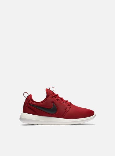 sneakers nike roshe two gym red black sail