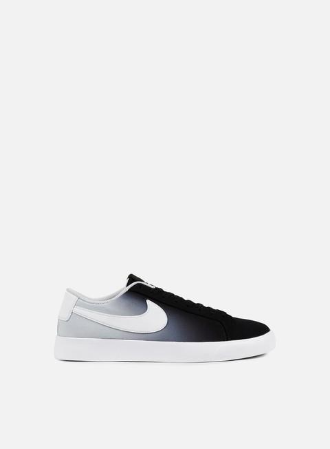 sneakers nike sb blazer vapor txt black white pure platinum