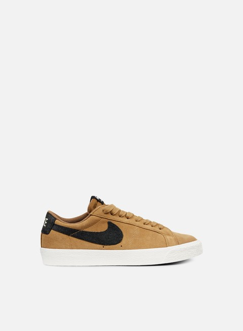 sneakers nike sb blazer zoom low golden beige black sail