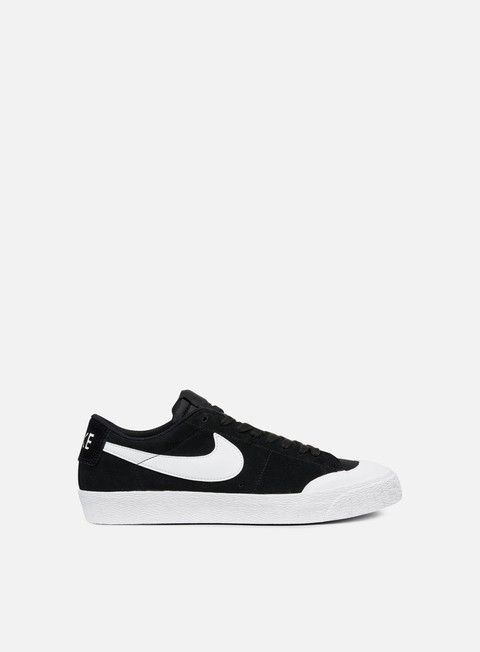 sneakers nike sb blazer zoom low xt black white gum light brown