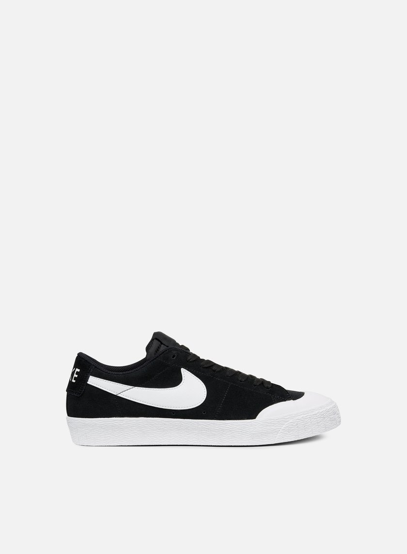 NIKE SB NIKE SB BLAZER ZOOM LOW X 864348 019 BLACK WHITE