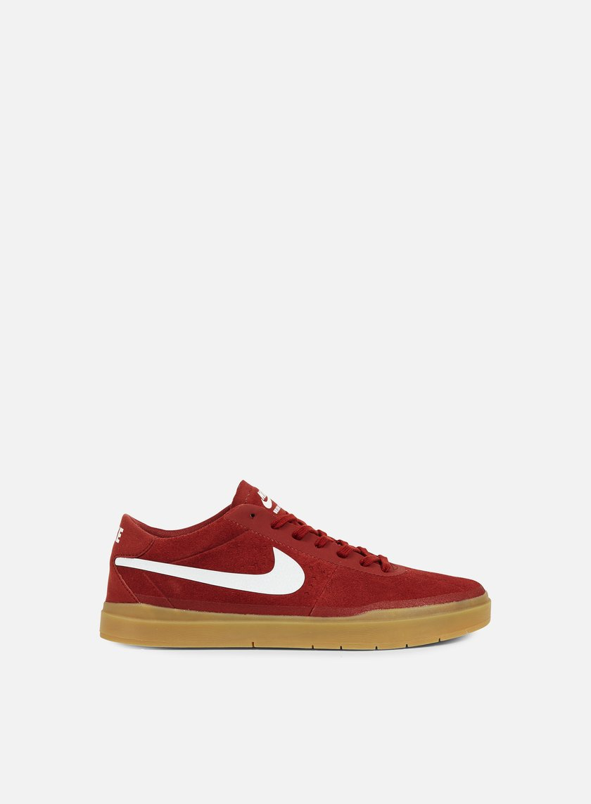 Nike SB - Bruin SB Hyperfeel, Dark Cayenne/White/Gum Light Brown