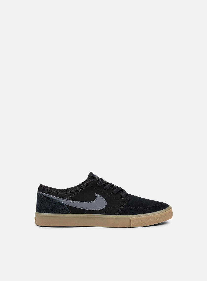 Nike SB - Portmore II Solar, Black/Dark Grey/Gum Light Brown