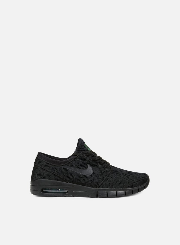 Nike SB - Stefan Janoski Max, Black/Black/Pine Green