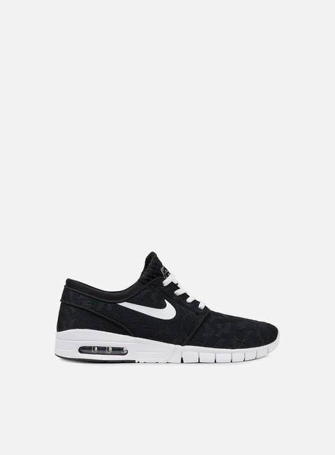 sneakers nike sb stefan janoski max black white