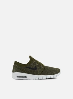 Nike SB - Stefan Janoski Max, Legion Green/Black 1