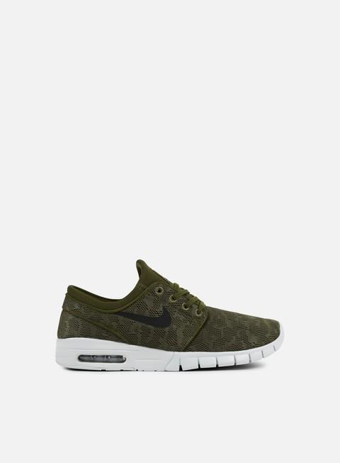 sneakers nike sb stefan janoski max legion green black