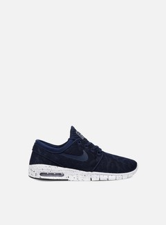 Nike SB - Stefan Janoski Max, Midnight Navy/Midnight Navy/White