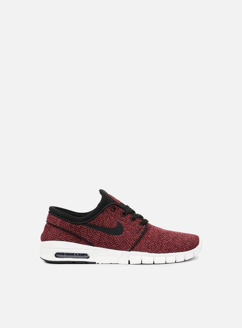 sneakers nike sb stefan janoski max track red black cedar