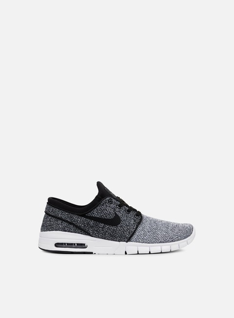 sneakers nike sb stefan janoski max white black dark grey