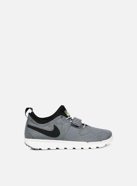 sneakers nike sb trainerendor cool grey black white