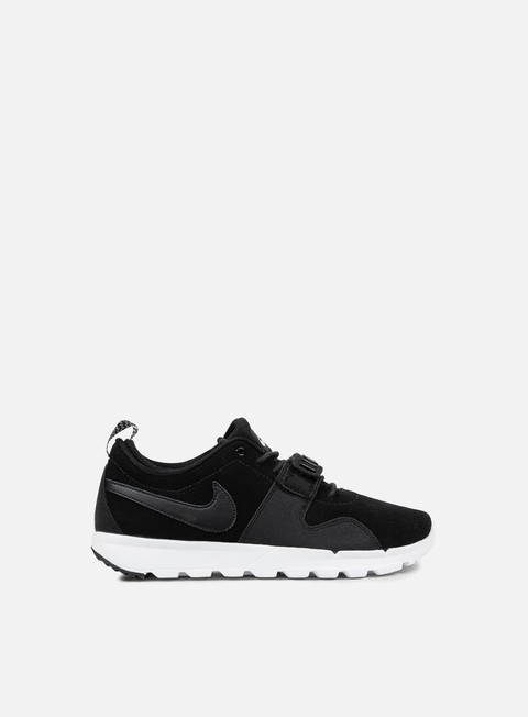 sneakers nike sb trainerendor l black black white