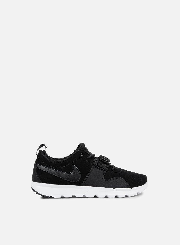 Nike SB - Trainerendor L, Black/Black/White