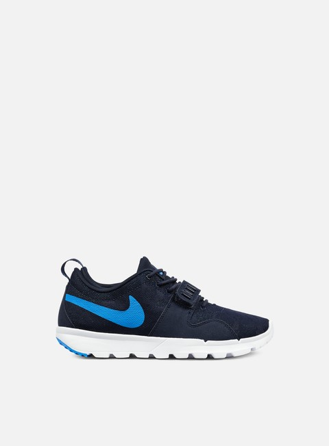 sneakers nike sb trainerendor obsidian photo blue white