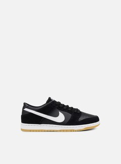Nike SB - Zoom Dunk Low Pro, Black/White/Gum Light Brown 1