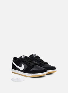 Nike SB - Zoom Dunk Low Pro, Black/White/Gum Light Brown 2