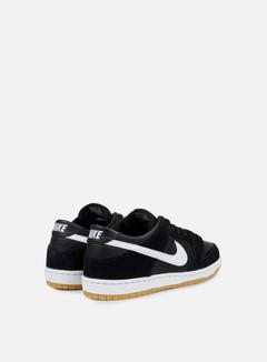 Nike SB - Zoom Dunk Low Pro, Black/White/Gum Light Brown 3