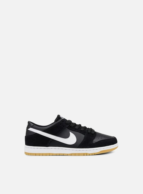 sneakers nike sb zoom dunk low pro black white gum light brown