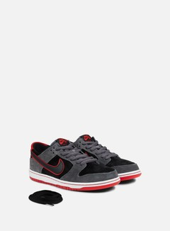 Nike SB - Zoom Dunk Low Pro, Dark Grey/Black/University Red 2