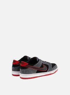 Nike SB - Zoom Dunk Low Pro, Dark Grey/Black/University Red 3