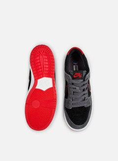 Nike SB - Zoom Dunk Low Pro, Dark Grey/Black/University Red 4