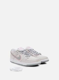 Nike SB - Zoom Dunk Low Pro Ishod Wair, White/Perfect Pink/Flat Silver 2