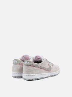 Nike SB - Zoom Dunk Low Pro Ishod Wair, White/Perfect Pink/Flat Silver 3