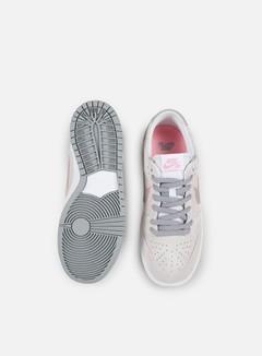 Nike SB - Zoom Dunk Low Pro Ishod Wair, White/Perfect Pink/Flat Silver 4