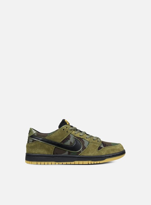 sneakers nike sb zoom dunk low pro medium olive black