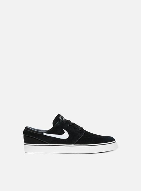 sneakers nike sb zoom stefan janoski black white