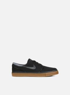 Nike SB - Zoom Stefan Janoski Canvas, Black/Anthracite/Gum Med Brown