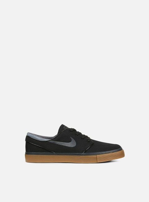 sneakers nike sb zoom stefan janoski canvas black anthracite gum med brown