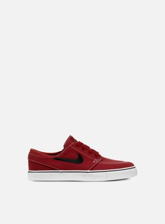 Nike SB - Zoom Stefan Janoski Canvas, Dark Cayenne/Gum Light Brown/White 1