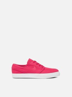 Nike SB - Zoom Stefan Janoski Canvas, Rush Pink/Gum Yellow/Rush Pink